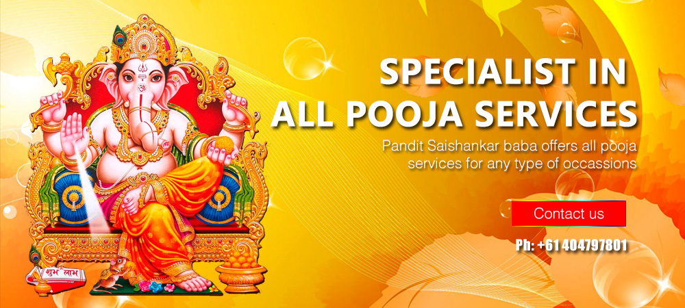 All pooja services astrologer in sydney Australia